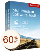 Aiseesoft Multimedia Software Toolkit Discount Coupon