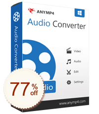 AnyMP4 Audio Converter Discount Coupon