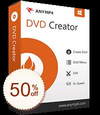 AnyMP4 DVD Créateur pour Mac Discount Coupon