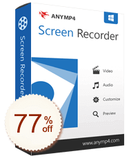 AnyMP4 Screen Recorder Discount Coupon