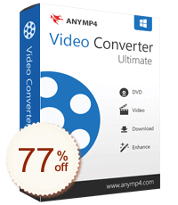 AnyMP4 Video Converter Ultimate Discount Info