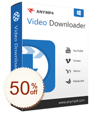 AnyMP4 Video Downloader Discount Coupon