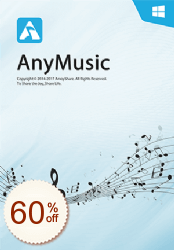 AnyMusic Discount Coupon Code