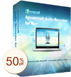 Apowersoft Audio Recorder for Mac Discount Coupon