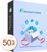 Apowersoft Unlimited Discount Coupon