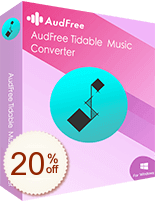 AudFree Tidable Music Converter Discount Coupon