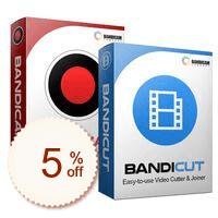 Bandicam + Bandicut Package Discount Coupon