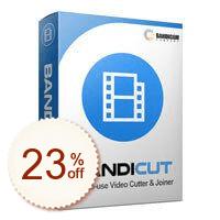 Bandicut Video Cutter Discount Coupon