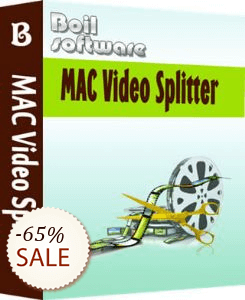 Boilsoft Video Splitter for Mac Discount Coupon