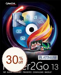 CyberLink Power2GO Discount Coupon Code