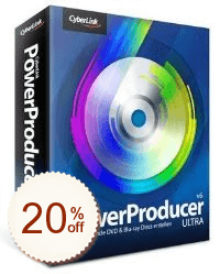 CyberLink PowerProducer Discount Coupon