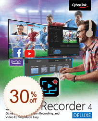 CyberLink Screen Recorder Discount Info