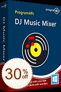 Program4Pc DJ Music Mixer Discount Coupon
