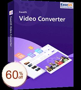 EaseUS Video Converter Discount Coupon