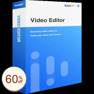 EaseUS Video Editor Discount Coupon Code