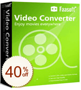 Faasoft Video Converter Discount Coupon