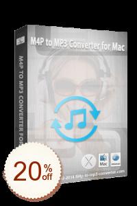 M4P to MP3 Converter for Mac Code coupon de réduction