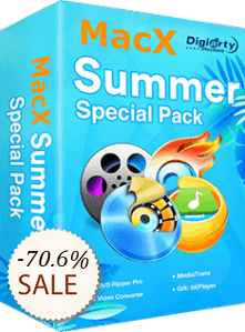 MacX Summer Special Pack Discount Coupon