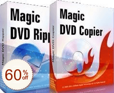 Magic DVD Ripper + DVD Copier Discount Coupon
