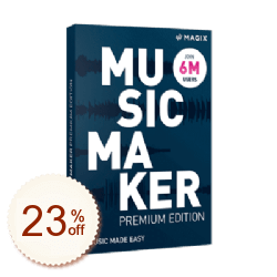 MAGIX Music Maker Premium Discount Coupon