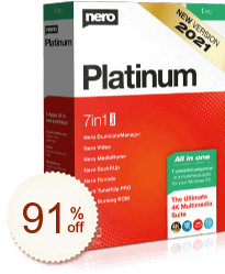 Nero Platinum Suite Discount Coupon