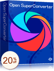 Open SuperConverter Discount Coupon