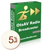 OtsAV Radio Discount Coupon