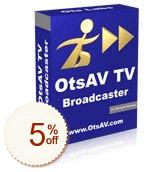 OtsAV TV Discount Coupon Code