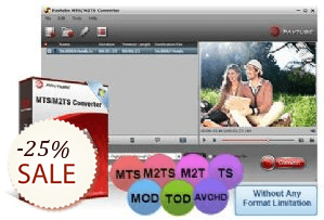 Pavtube MTS/M2TS Converter Discount Coupon