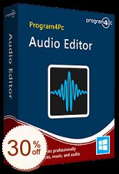 Program4Pc Audio Editor Discount Coupon