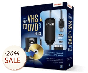 Roxio Easy VHS to DVD Plus Discount Coupon