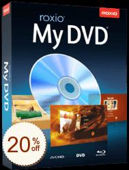 Roxio MyDVD Discount Coupon