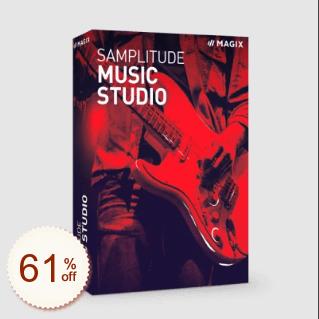 Samplitude Music Studio Discount Coupon
