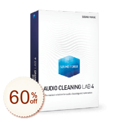 SOUND FORGE Audio Cleaning Lab Discount Coupon