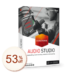 SOUND FORGE Audio Studio Discount Coupon