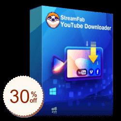 StreamFab YouTube Downloader Code coupon de réduction