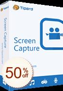 Tipard Screen Capture Discount Coupon
