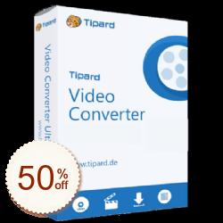 Tipard Video Converter Discount Coupon