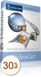 VideoGet割引クーポンコード