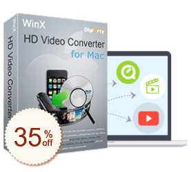 WinX HD Video Converter for Mac Discount Coupon