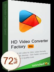 WonderFox HD動画変換プロ Discount Coupon