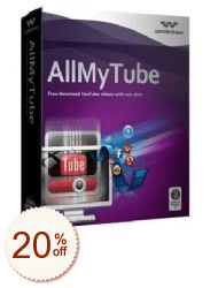 Wondershare AllMyTube Discount Coupon Code