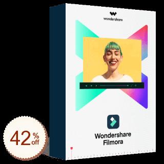 Wondershare Filmora Code coupon de réduction