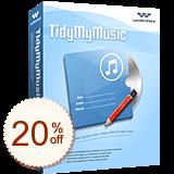 Wondershare TidyMyMusic Discount Coupon