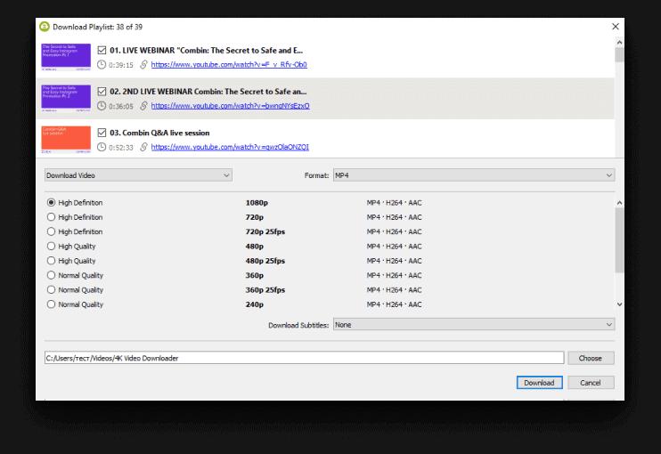 4K Video Downloader Screenshot