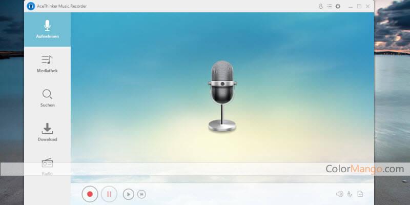 Acethinker Musik-Recorder Screenshot