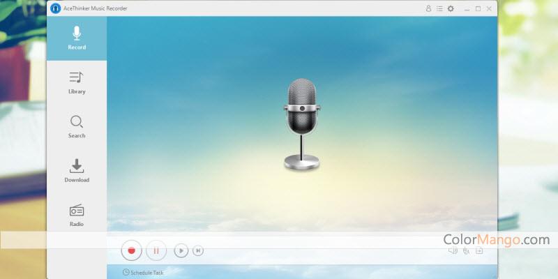 Acethinker Music Recorder Screenshot