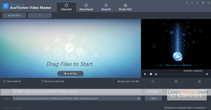 AceThinker Video Master Screenshot