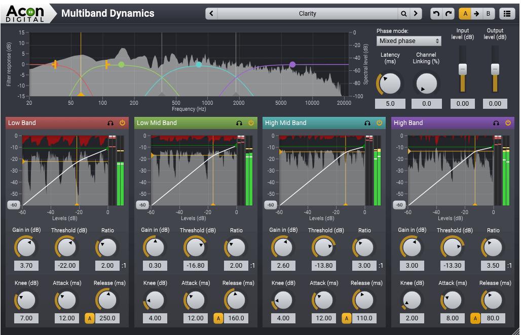 Acon Digital Mastering Suite Screenshot