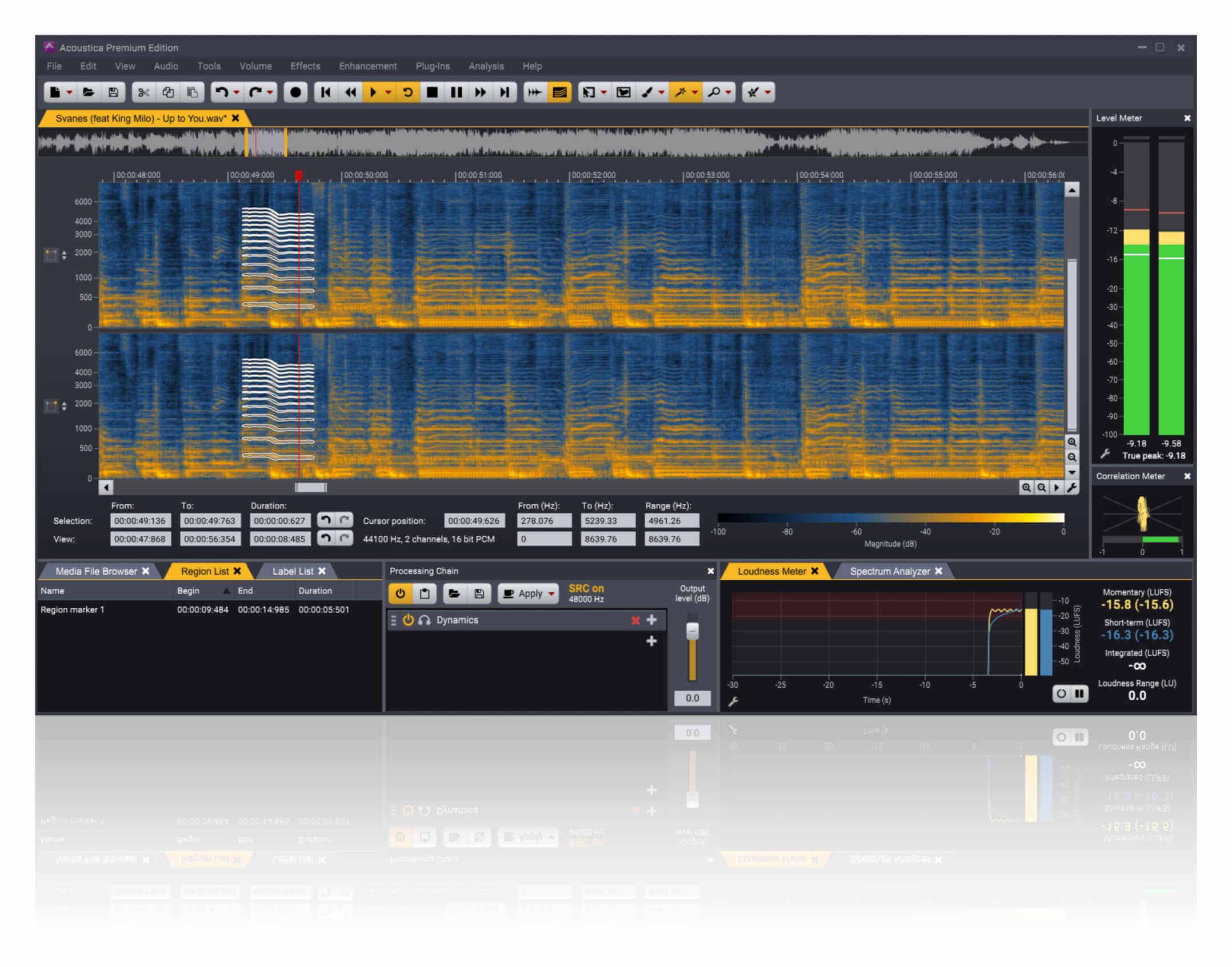 Acoustica Screenshot